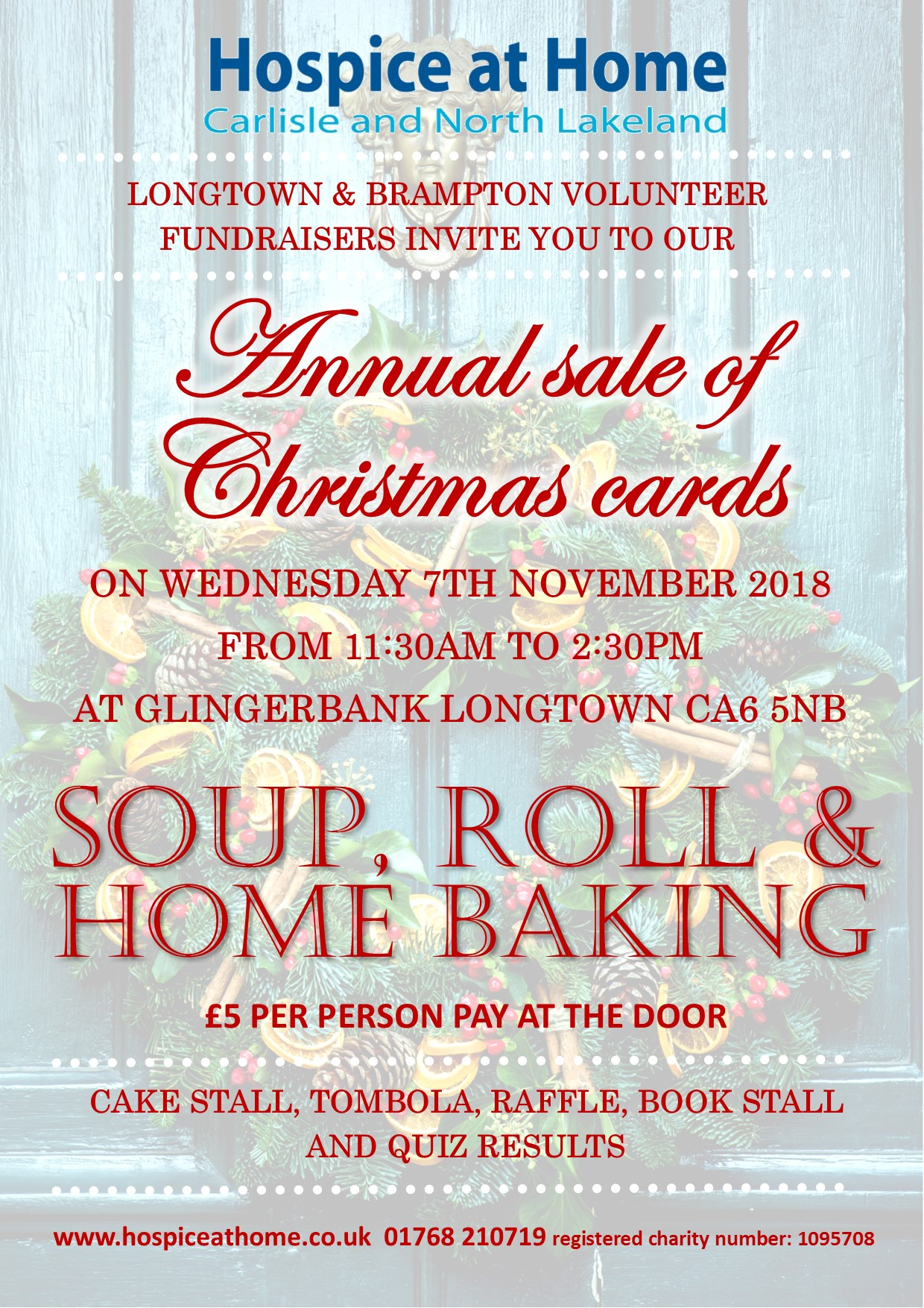 Annual sale of Christmas Cards – Hospice at Home